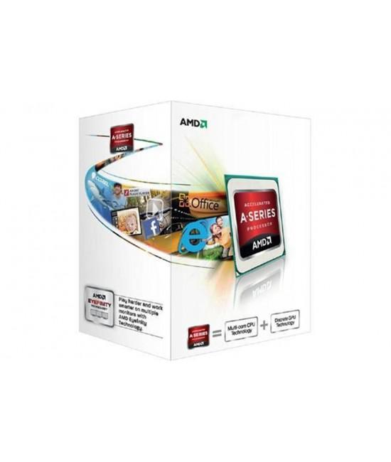 PROCESSADOR PARA COMPUTADOR AMD FM2 A4 4000 3.2GHZ/1MB/DUAL CORE C/ RADEON HD7480D AD4000OKHLBOX
